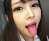 ①【ツバベロM男】跡美しゅりの主観で口内舌観察&レンズ舐め唾吐き&堪能!