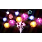 Image CG firework Fireworks