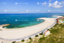 SUN Beach T0530 empty Imaging / tomigusuku Castle / beautiful