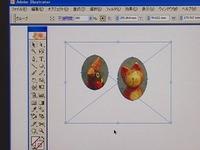 イラストレーターCS2 使い方講座 複合パスにしてクリッピングマスク