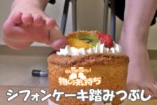 33 シフォンケーキ