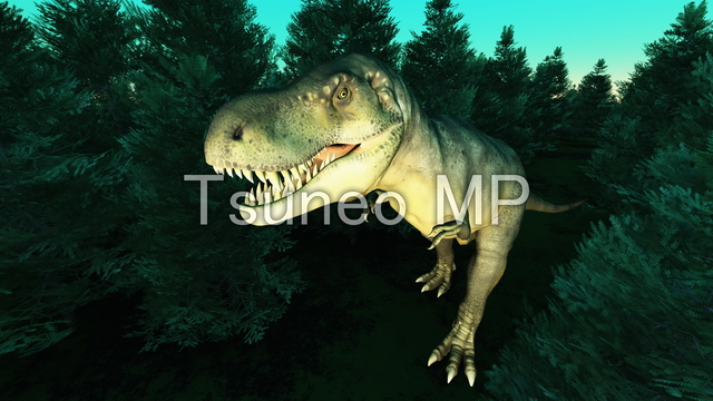 Illustration CG dinosaurs