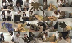 GJ-015 미용 부원 호기심 Rubber Gloved Handjob Action.