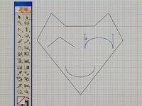 イラストレーターCS2 使い方講座 曲線に角をつける