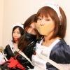 Photoset[#1142] Triplecross of Female Ninja and House Maids by Oriental Deeva
