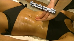 Massage the belly of muscle tregal part2