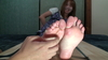 Foot - barefoot - tickling 2 Takigawa Yuna [HD quality]