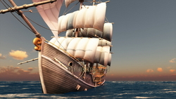 Image CG boats