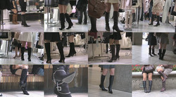 Plainclothes female boots D-LM02