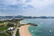 Sky imaging and Nago / 21 century forest Beach NG0196