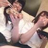 当女孩上学的女孩两个人聚集在酒店时,3个女孩喷大喷!