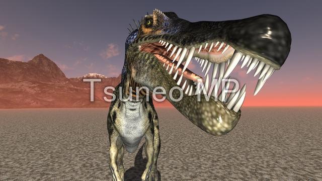 イラストCG 恐竜
