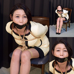 Beautiful woman secretary Madoka Makoto continuous gags Part 3
