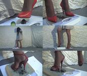 heel&scale (ハイヒールと体重計)