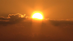 Sun 003 (stock movie HD material)