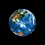 CG globe illustrations