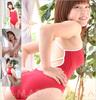 Yamada Yu Xiang red one-piece swimsuit
