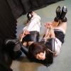 Haru Sakurano and Madoka Karasuma - Student and Agent Bound and Gagged - Full Movie