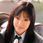 Dark-haired school girl momono reel