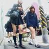 Schoolgirl BYD-27 Ki I now wear & school shoes hood crash