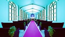イラストCG 教会