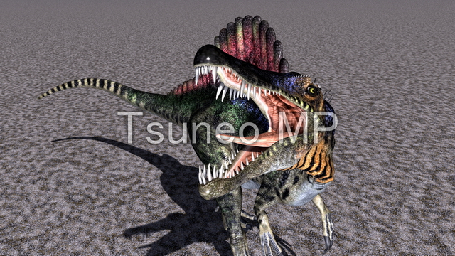 일러스트 CG 공룡