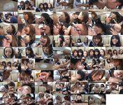 女子校生のツバフェチ健康診断