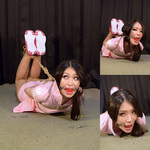 NH3 Namie Tied & Gagged in Cute Tennis Outfit Part3