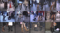 Plainclothes female boots D-LM01