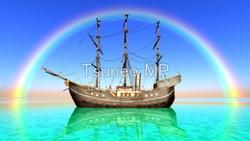 CG ship illustration
