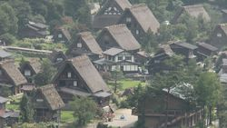 World Heritage site, Shirakawa-go Gassho village-1