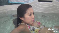 かすみバスタブ水中シーン22