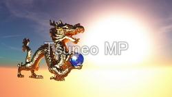 イラストCG ドラゴン