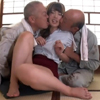 【グローリークエスト】老働者に輪○され性奴○と化す巨乳未亡人 #001