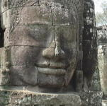 Thom Angkor Thom and Banteay Srei and Ta Prohm
